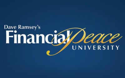 New Online Financial Peace University Class Begins January 6th.