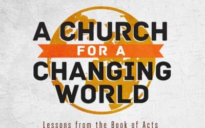 New Sermon Series Begins September 20th
