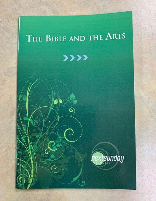 New Online Class Starts October 1st – The Bible and the Arts