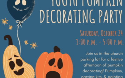 Youth Pumpkin Carving Party  October 24th