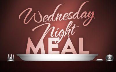 Wednesday Night Dinners Return This Wednesday